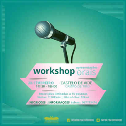 workshop orais